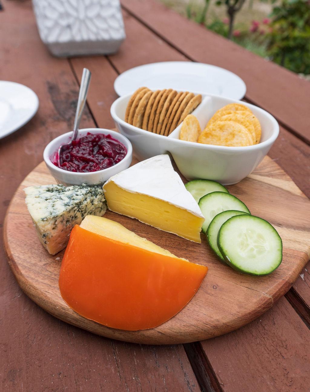 Cheese board - Leithfield Beach Holiday Park