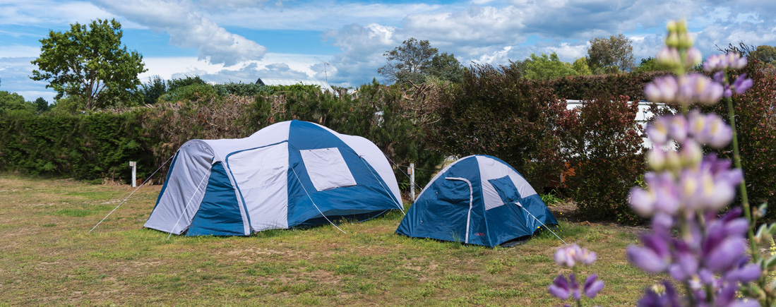 Camping at Leithfield Beach Holiday Park near Christchurch